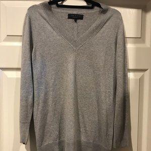 Rag and Bone long grey sweater